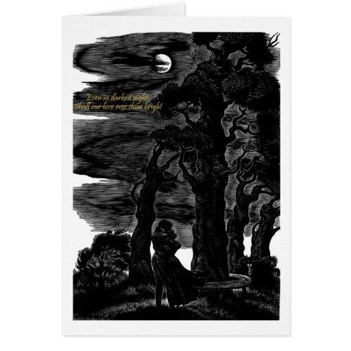 Even in Darkest Night Greeting Card