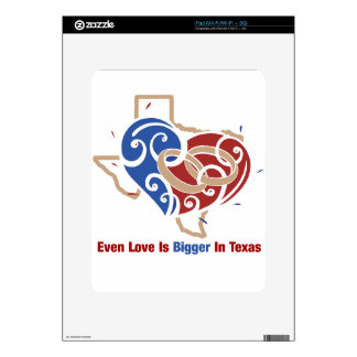 Even Love Is Bigger In Texas Skin For The iPad