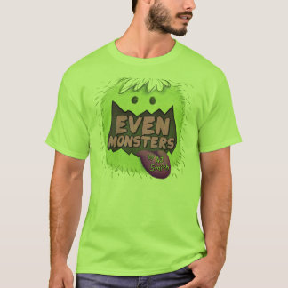 EVEN MONSTERS Glubb T-Shirt Size: GROWN-UP