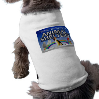 Even our fur friends support us. dog clothing