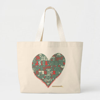 Even Stronger. Large Tote Bag