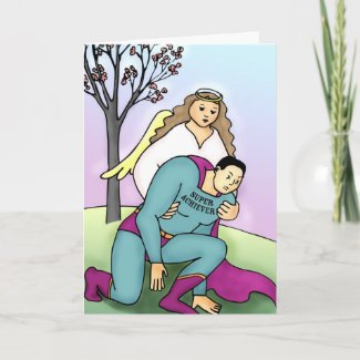 Even Super-Heroes Need a Hand card