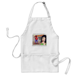 Even Superheroes Get Wedgies Funny Gifts Mugs Etc Adult Apron