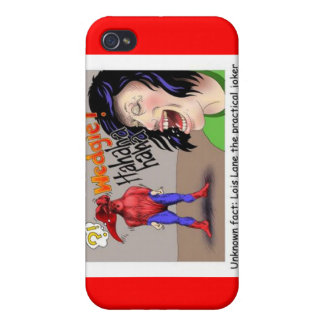 Even Superheroes Get Wedgies Funny Gifts Mugs Etc iPhone 4 Covers