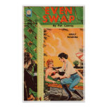 Even Swap - Original 1965 Lesbian Romance Novel Posters