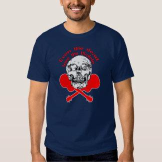 Even The Dead Love The Ukulele... T Shirt