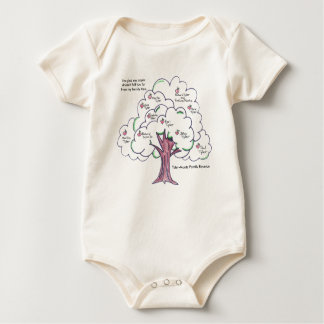 Even the smallest one can represent. baby bodysuit