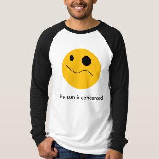 Even the sun is worried. T-Shirt