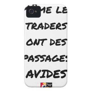 EVEN THE TRADERS HAVE AVID PASSAGES Case-Mate iPhone 4 CASE