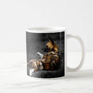 Even Wild Dogs Rest Coffee Mug