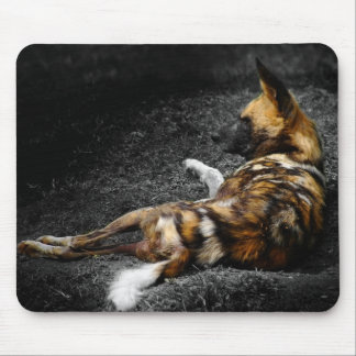 Even Wild Dogs Rest Mouse Pad