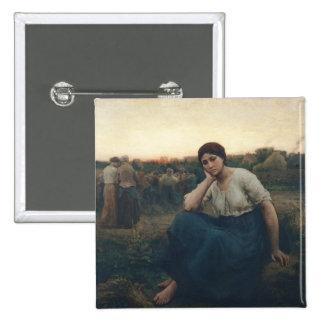 Evening, 1860 pinback button