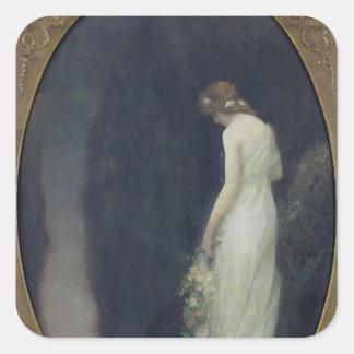 Evening, 1911 colcomanias cuadradas