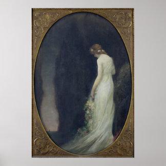 Evening, 1911 poster