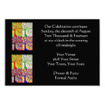 Evening Affair 'Our Celebration Continues' Invite