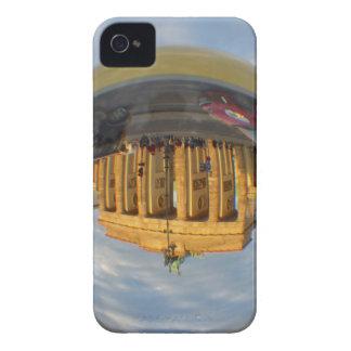Evening at Brandenburg Gate, Berlin, crystal ball iPhone 4 Case-Mate Case