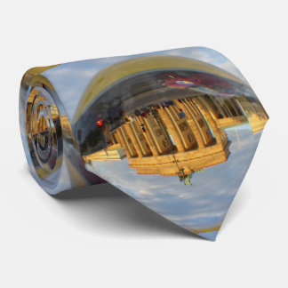 Evening at Brandenburg Gate, Berlin Tie