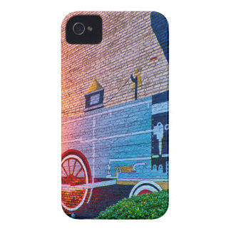 evening at clover south carolina small town york c iPhone 4 cover