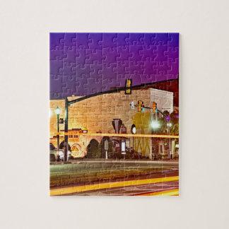 evening at clover south carolina small town york c jigsaw puzzle