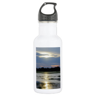 Evening At Folly River Water Bottle