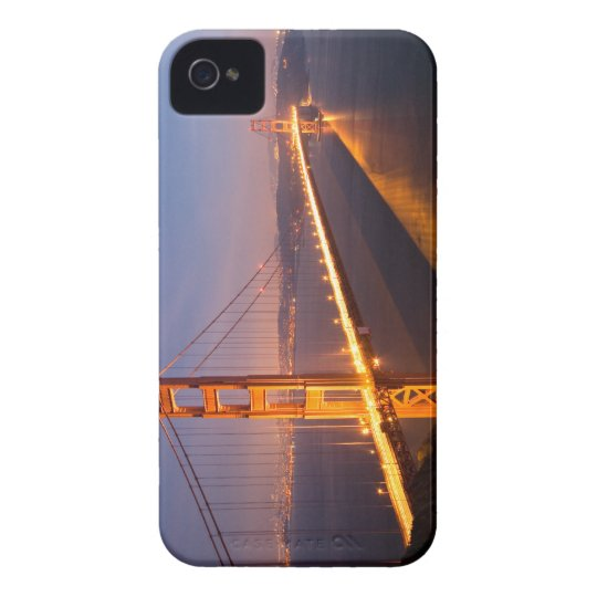 """Evening at Golden Gate Bridge"" BlackBerry Bold iPhone 4 Case"