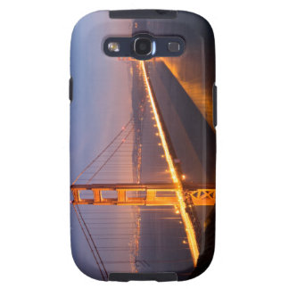 """Evening at Golden Gate Bridge"" Samsung Galaxy Galaxy SIII Covers"