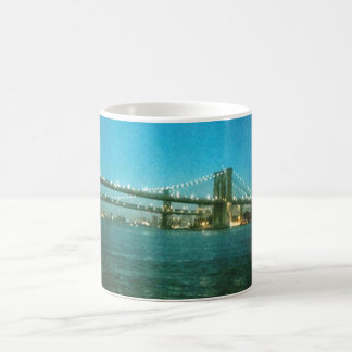 Evening at the Brooklyn Bridge Coffee Mug