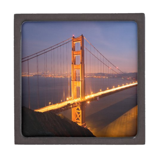 Evening at the Golden Gate Bridge Gift Box