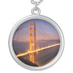 """Evening at the Golden Gate Bridge"" necklace"