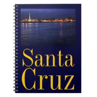 Evening at the Santa Cruz Boardwalk Notebook