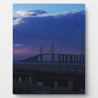 Evening at the Skyway Photo Plaque