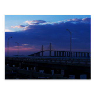 Evening at the Skyway Postcard