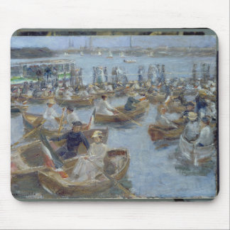 Evening at the Uhlenhorster Fahrhaus, 1910 Mouse Pad