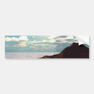 Evening Atoll Bumper Sticker