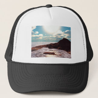 Evening Atoll Trucker Hat
