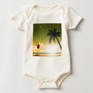 Evening Beach Baby Bodysuit