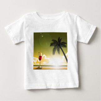 Evening Beach Baby T-Shirt