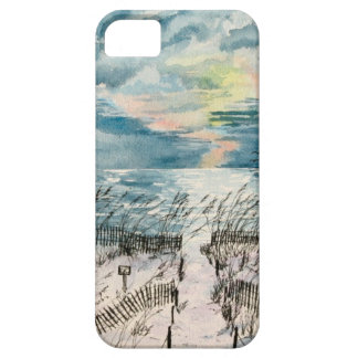 Evening beach sunset cover for iPhone 5/5S