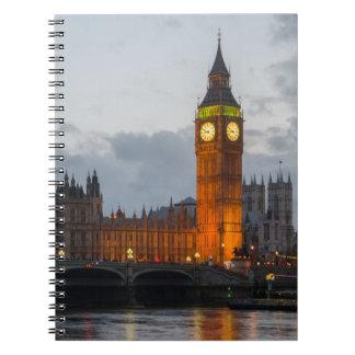 Evening Big Ben Notebook