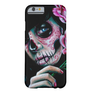 Evening Bloom Sugar Skull Girl Barely There iPhone 6 Case