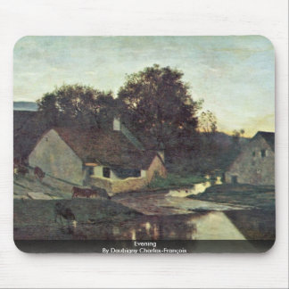 Evening By Daubigny Charles-François Mouse Pad