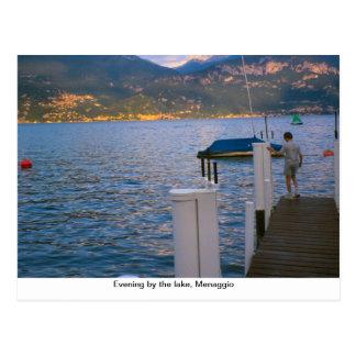 Evening by the lake, Menaggio, Lake Como Postcard