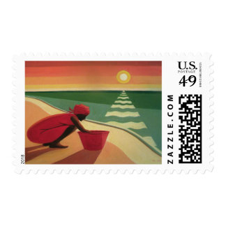 Evening Calm 2003 Postage Stamp