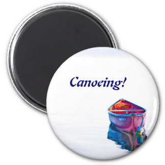 Evening calm 2 inch round magnet