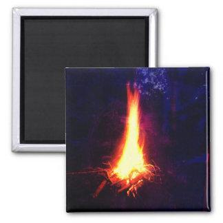 Evening Campfire Magnet