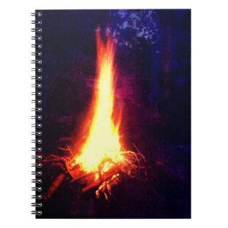 Evening Campfire Notebook