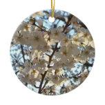 Evening Cherry Blossoms I Spring Tree Ceramic Ornament