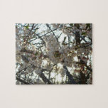 Evening Cherry Blossoms II Flowering Spring Tree Jigsaw Puzzle