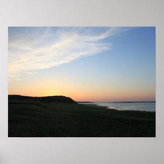 Evening Coast Print