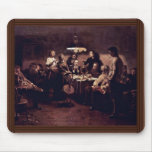 Evening Company By Vladimir Makovsky Mouse Pad